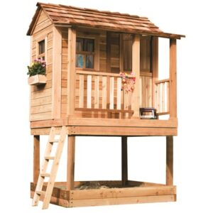 Little Cedar Playhouse with Sandbox's feature image