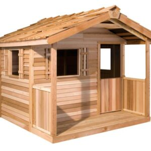 Western Red Cedar 6 x 6 Playhouse