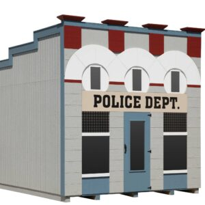 Police Department Playhouse